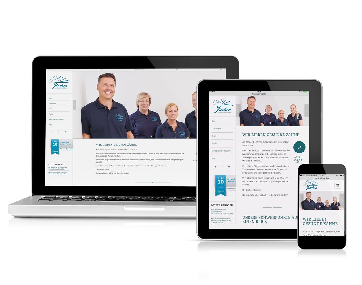 Onlinemarketing Karlsruhe Zahnarzt BCvision marketing & communication